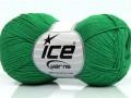 Čistá bavlna fajn new - zelená