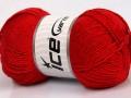 Cottonac glitz - červená