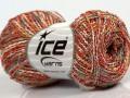 Cottonac Spiry - červenozlatotyrkysovokrémová