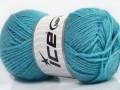 Derby vlna - pastělově modrá