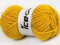 Elita vlna superbulky - tmavě žlutá