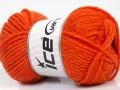 Eskimo vlna - oranžová