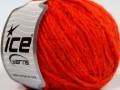 Etno Alpaka - neonově oranžová