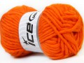 Felt virgin vlna - oranžová