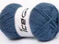 Feting vlna - kouřově modrá