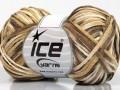 Fettuccia bavlna - hnědokrémová