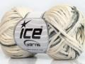 Fettuccia bavlna - krémovošedá