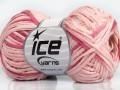 Fettuccia bavlna - růžové odstíny