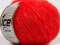 Fleecy vlna - červená
