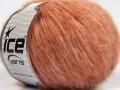 Fleecy vlna - lososové odstíny