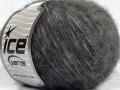 Fleecy vlna - šedé odstíny