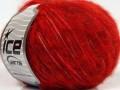 Fleecy vlna - tmavě červenozlatá