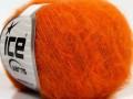 Fluffy superfajn - tmavě oranžová