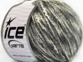 Folco bavlna mohér - šedobílé odstíny