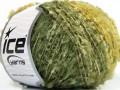 Folle pom pom - zelené odstíny
