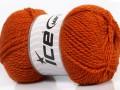 Fox vlna - tmavě oranžová