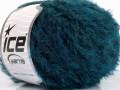 Fur superkid mohér - modrozelená