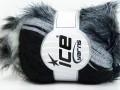 Furry Hat - černošedostříbrná