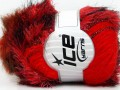 Furry Hat - červené odstíny