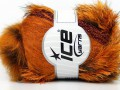 Furry Hat - oranžovoměděnohnědá