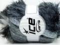 Furry Hat - šedostříbrné odstíny