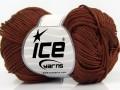 Giza bavlna - hnědá