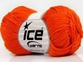 Giza bavlna - oranžová