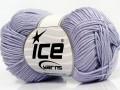 Giza bavlna - světle fialová