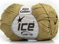Giza bavlna - světle khaki 1