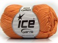Giza bavlna - světle oranžová 1