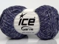 Graphite bavlna - fialové odstíny