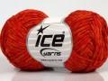 Graphite bavlna - oranžové odstíny
