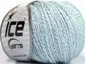 Hedvábí bavlna - dětská modrá