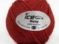 Hemp - marsala červená