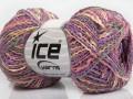 Imperial bavlna - fialovoforůžovošedá