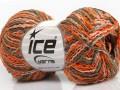 Imperial bavlna - oranžovovelbloudísvětle lososová