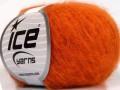 Kid mohér fajn - oranžová 4