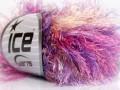 Long Eylash colorful - purpurovorůžovožlutofialová