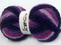 Loopy - purpurovorůžovomodrá