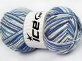 Lorena color - modrobílé odstíny