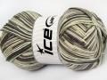 Lorena color - šedovelbloudíkrémová