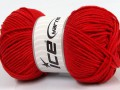 Lorena worsted - červená