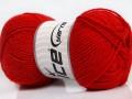 Lux vlna - červená