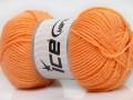 Lux vlna - světle oranžová