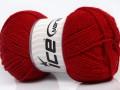 Lux vlna - tmavě červená