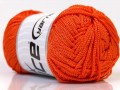 Macrame cord - oranžová
