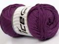 Macrame cord - purpurová 1
