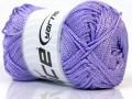 Macrame cord - světle fialová