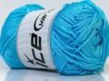 Macrame cord - světle modrá