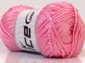 Macrame cord - světle růžová